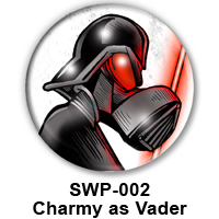 BUTTON 00008 Charmy as Darth Vader PREVIEW - WEB