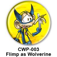 BUTTON 00009 - Flimp as Wolverine PREVIEW - WEB