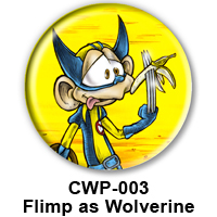 BUTTON 00009 - Flimp as Wolverine PREVIEW - WEB