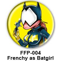 BUTTON 00028 - Bat Girl PREVIEW - WEB