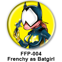 BUTTON 00028 - Bat Girl PREVIEW - WEB