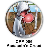 BUTTON 00035 - Charmy Assasin Creed PREVIEW- WEB