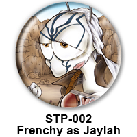 BUTTON 00038 - Frenchy as Jaylah PREVIEW - WEB