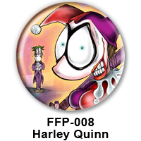 BUTTON 00039 - Frenchy as Harley Quinn PREVIEW- WEB