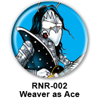 BUTTON 00042 - Weaver as Ace Frehley - KISS PREVIEW - WEB