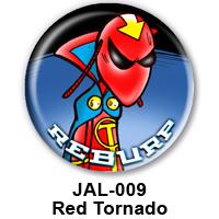 BUTTON 00052 - Red Tornado PREVIEW - WEB
