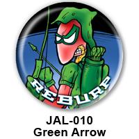 BUTTON 00053 - Green Arrow PREVIEW- WEB