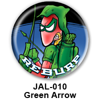 BUTTON 00053 - Green Arrow PREVIEW- WEB
