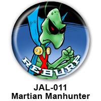 BUTTON 00054 - Martian Manhunter PREVIEW- WEB