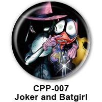 BUTTON 00056 - Joker Batgirl PREVIEWW- WEB