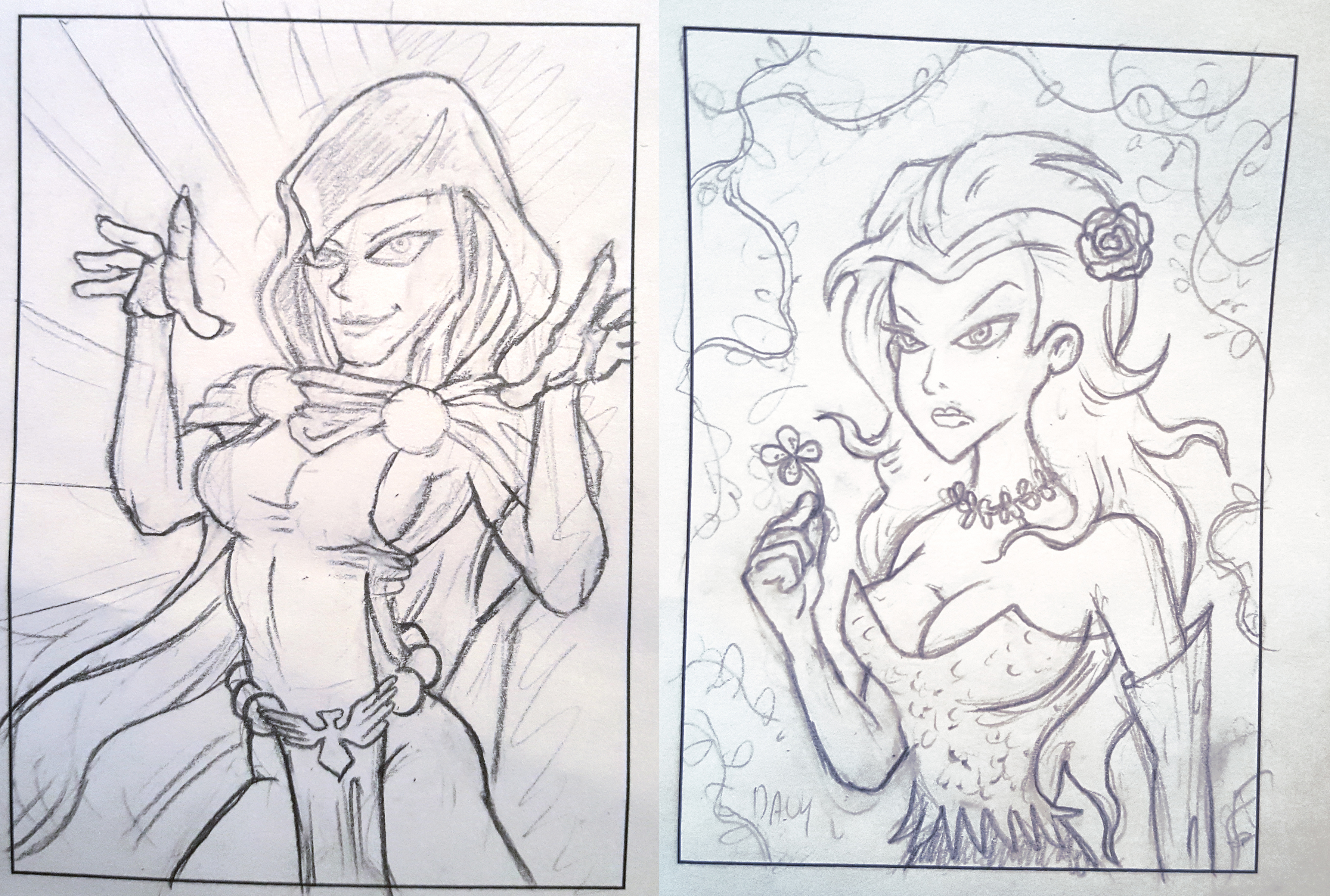 Davy's version of Raven and Poison Ivy.