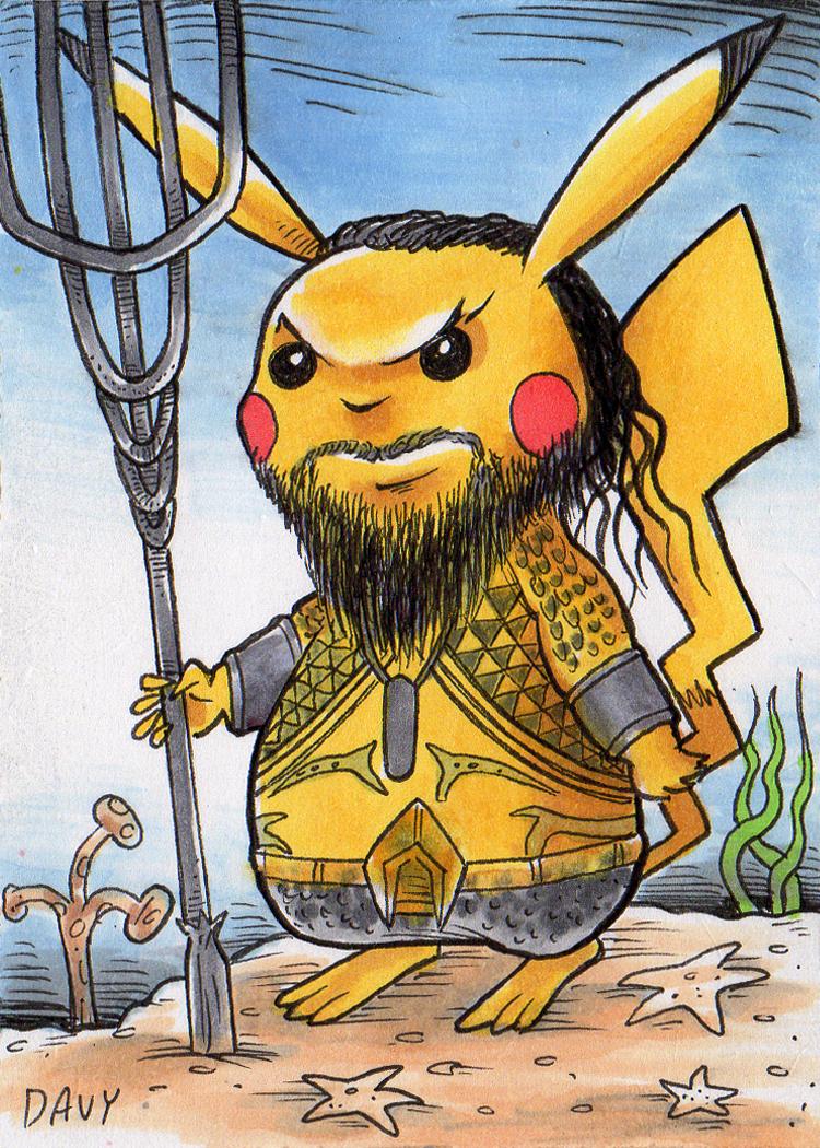 Aqua Pikachu