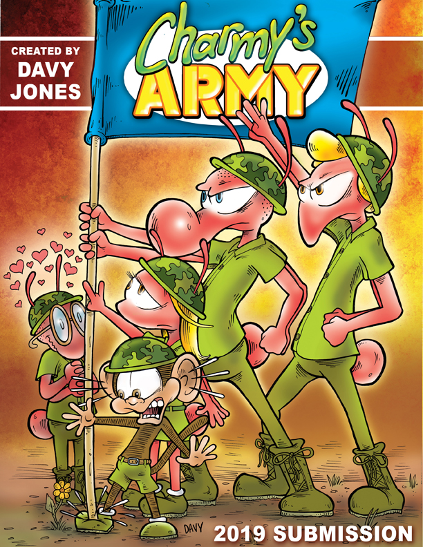 Charmy's Army syndication packet