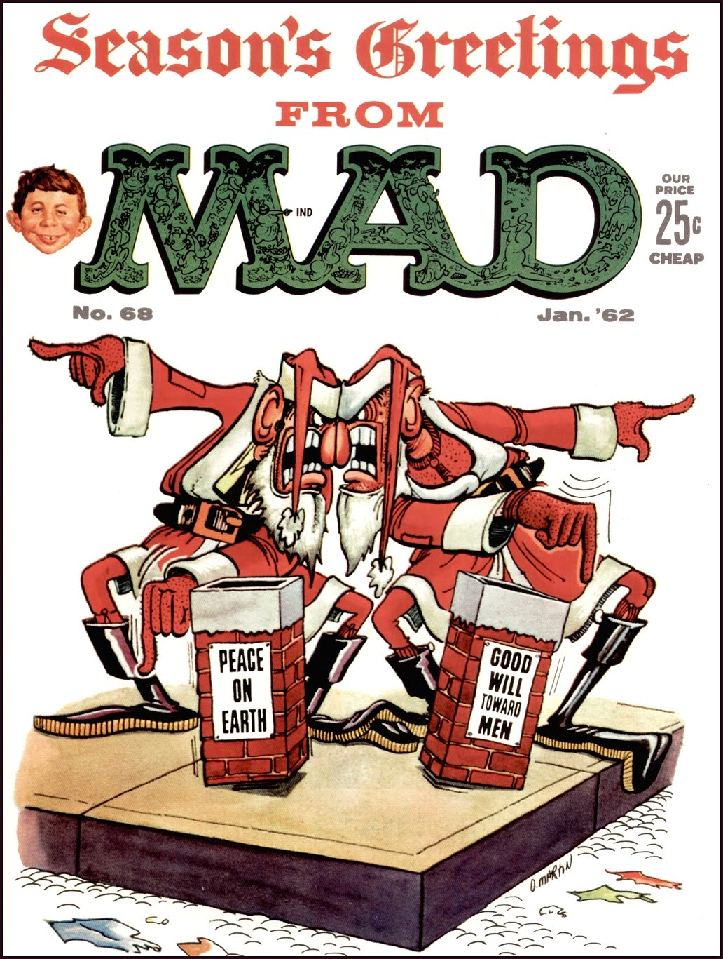 Davy's First Issue of MAD Magazine he ever purchased.